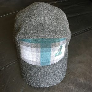 Kangol Gray Ice Check Supreme Cap